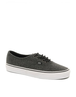 Image 1 ofVans Authentic Wool Plimsolls