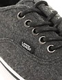 Image 3 ofVans Authentic Wool Plimsolls