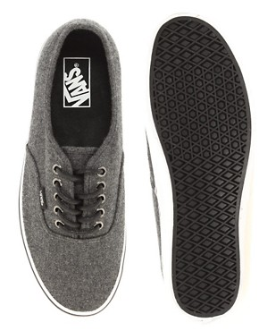 Image 4 ofVans Authentic Wool Plimsolls