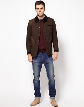 Image 4 ofASOS Jacket with Contrast Collar