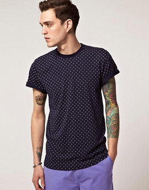 Image 1 ofAMH Reverse Polka Dot T-Shirt