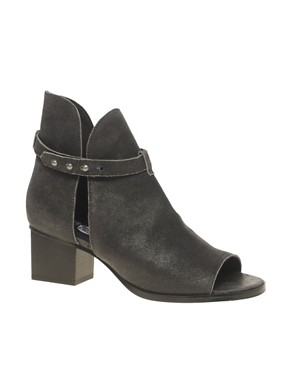 Image 1 ofCheap Monday Kloss Horse Peep Toe Boots