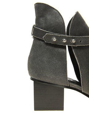 Image 2 ofCheap Monday Kloss Horse Peep Toe Boots