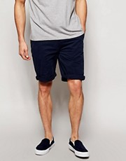 ASOS Chino Shorts In Longer Length