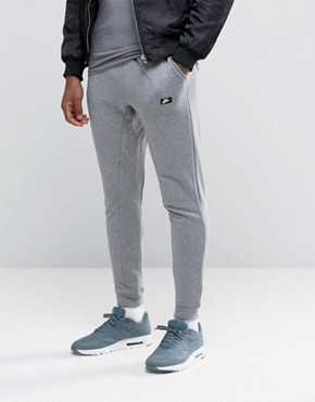 Nike Modern Slim Joggers In Grey 805154-091