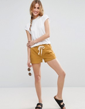 ASOS Linen Drawstring Casual Shorts