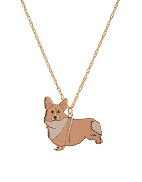Image 1 ofAnna Lou Of London Corgi Necklace