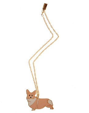 Image 2 ofAnna Lou Of London Corgi Necklace