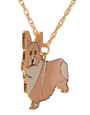 Image 4 ofAnna Lou Of London Corgi Necklace