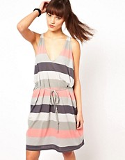 Cheap Monday Stripe Midi Dress