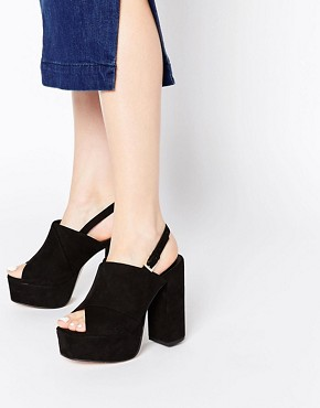 ASOS HACKNEY 70s Heeled Sandals