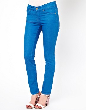 Image 4 of7 For All Mankind Mid Rise Cristen Skinny Jeans