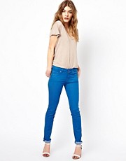 7 For All Mankind – Cristen – Mittelhohe Röhrenjeans