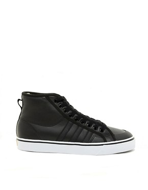 Image 4 ofAdidas Originals Nizza Hi Shearling Lined Trainers