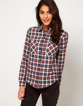 Image 1 ofGlamorous Checked Western Shirt