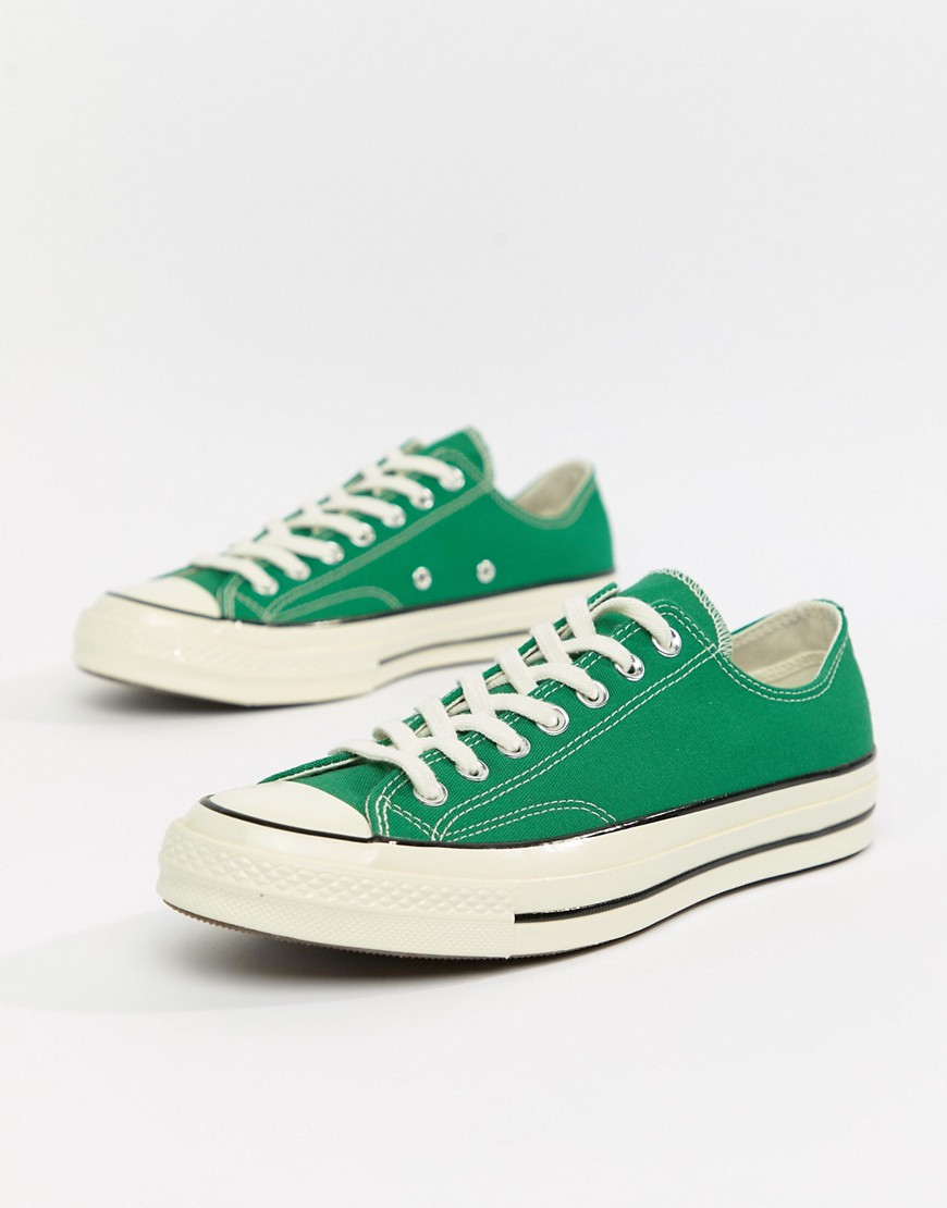 Купить Converse Chuck Taylor All Star '70 Ox Trainers In Green 161443C от Converse цвет green