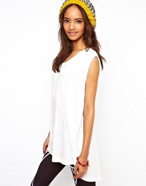 Image 1 ofASOS Tank Top with Trapeze Hem