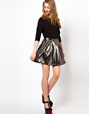 Viva Vena Disco Metallic Skirt