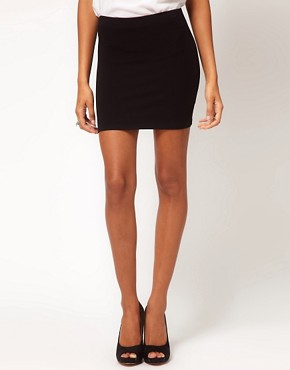 Image 4 ofASOS Mini Skirt in Jersey