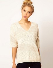 River Island Slubby Knit Jumper