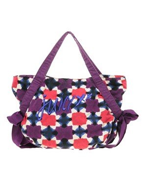 Bild 1 von Juicy Couture  Leinentasche mit Ikat-Muster
