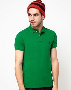 Image 1 ofPolo Ralph Lauren Polo Shirt Slim Fit