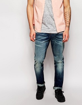 New Look Slim Worn Vintage Jeans