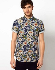 ASOS Shirt With Indie Print