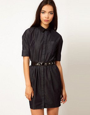 Image 1 ofAntipodium Balls Pond Shirt Dress
