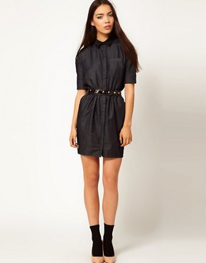 Image 4 ofAntipodium Balls Pond Shirt Dress
