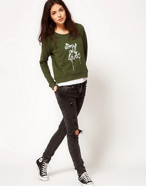 Image 4 ofA Question Of Army Of Lovers Organic Cotton Sweatshirt