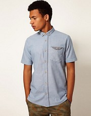 Boxfresh Shirt Cyrra Short Sleeve Chambray