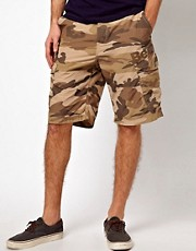Bench Camo Cargo Short
