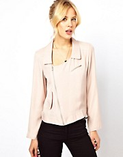 Chaqueta biker suave de ASOS