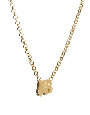 Image 4 ofDogeared Whispers Elephant Necklace