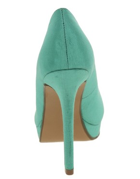 Image 2 ofASOS PASSION Platforms with Peep Toe
