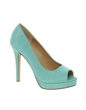 Image 1 ofASOS PASSION Platforms with Peep Toe