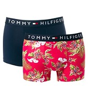 Tommy Hilfiger Flag Parnell 2 Pack Trunks