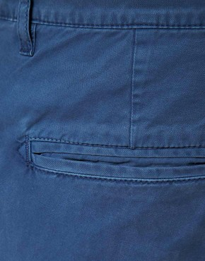 Image 3 ofASOS Washed Out Chino Shorts