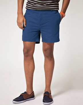 Image 1 ofASOS Washed Out Chino Shorts
