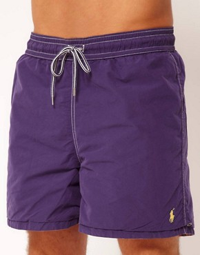 Image 4 ofPolo Ralph Lauren Check Reversable Swim Shorts