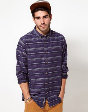 Image 1 ofPenfield Shirt with Horizontal Stripe