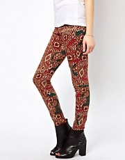 b + ab Aztec Print Jegging