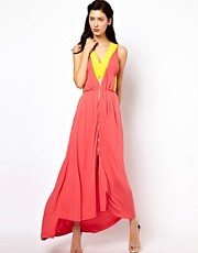Kore by Sophia Kokosalaki Full Length Dress With Centre Front Detail