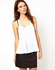Warehouse Double Strap Cami