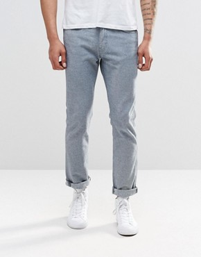 Levi's Line 8 511 Slim Jeans in Indigo Inside Out