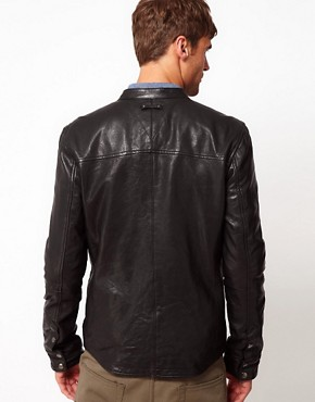 Image 2 ofCode Leather Jacket