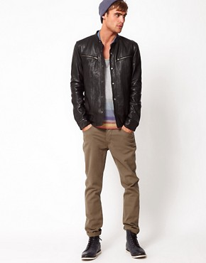 Image 4 ofCode Leather Jacket