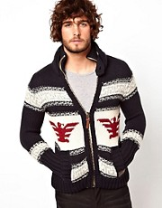 Superdry Buffalo Knit Zip Cardigan