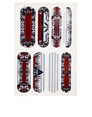 Parches con estampado floral en exclusiva para ASOS de Nail Rock